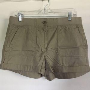 LOFT Khaki Shorts, Size 8, NWT